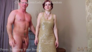 Cuckolding Cheating Wife/ coerced Bi by Lady Fyre  titty worship lady fyre big cock ginger cuckold femdom coercion milf kink ladyfyre encouraged bi hypnotize cuckold humiliation cheating wife boss fucks my wife