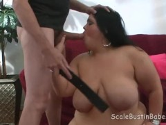 BBW Charlie POV BJ Fucking with Flogging