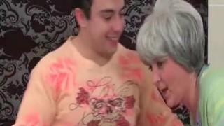 Mature slut gets nasty with her man in the bathroom Off webcam
