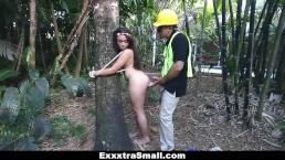 ExxxtraSmall - Tree Hugging Teen Fucks Lumberjack