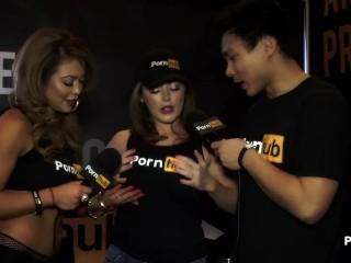 PornhubTV Sophie Dee Interview at 2015 AVN Awards