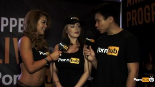 PornhubTV Sophie Dee Interview at 2015 AVN Awards