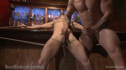 Creepy Handyman Punishes Hot Date