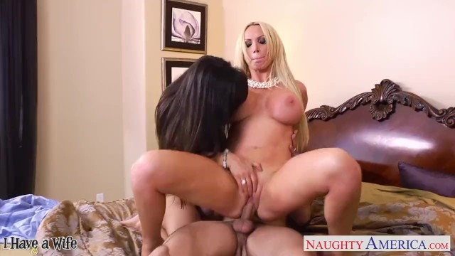 Italian naked wives pictures - Hot wives lisa ann and nikki benz sharing a big dick
