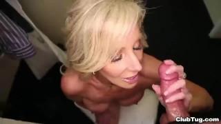 sensual handjob klixen