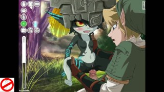 Midna 3x pleasure Link version