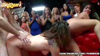 Cock hungry party amateurs going crazy for cock!