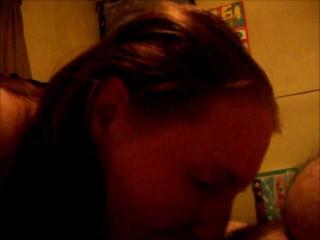 Sex Ketchen Amateur Ginger Lady Adorn Sucks His Cock Until He Cum Is Her