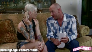 BurningAngel Emo Slut Kleio Valentien on Big Dick