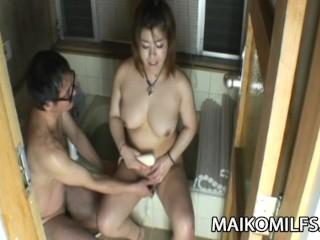 Kana Miyagi - That JAV Wife Is So Noisy In Bed