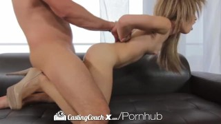 castingcouch x hd amateur natasha white blowjob hardcore facial brunette casting reality interview cumshot cock-sucking oral raw shaved-pussy