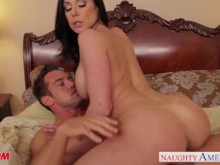 Image Chesty mom Kendra Lust gets facial