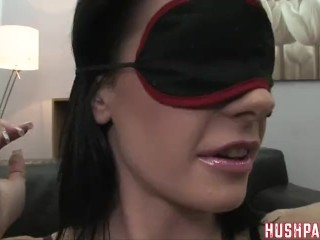 Aliz shockingly takes a massive cock in her ass!!!
