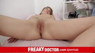 Treated lean cunt redhead angel by indecent electra doctor cervix doctor