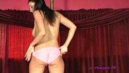 Gianna Michaels stripping & masturbating then Lap Dance