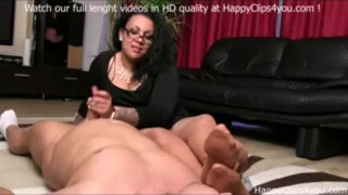 By gina foot smelling handjob sniffing foot