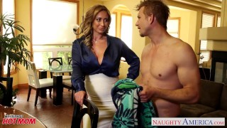 Notty eva her nasty mom tits dick with fucking big blonde