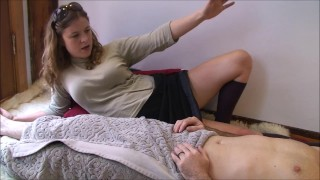 Erin blowjob massage electra sloppy gives pov doctor