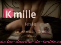 Kmille Teste Le Gel De Massage Nuru Magicgel