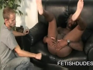 Hole Hunter: Black Ass Dilf Worship By Young White Boy