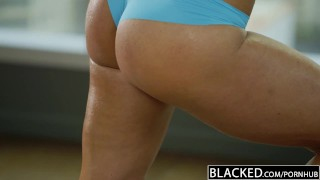 BLACKED Fitness Babe Kendra Lust Loves Huge Black Cock porno