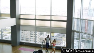 Black cock loves fitness blacked babe kendra lust huge gym workout