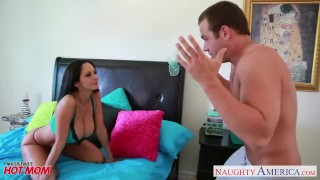 Chesty mom Ava Addams take cock