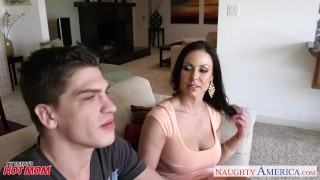 Hot mom Kendra Lust take cock Taboo milf