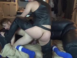 BradRioux Huge Uncut Cock Thick & FoxRey beautiful ass