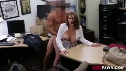 Foxy Business Lady Gets Fucked!