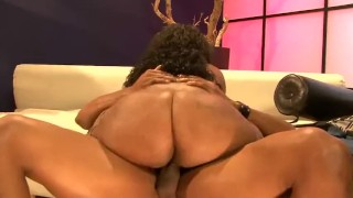 D fucked hard ass cherokee ebony butt