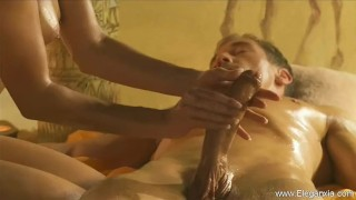 Elegance massage couples oriental