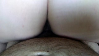 My wife riding my dick. Solo huge