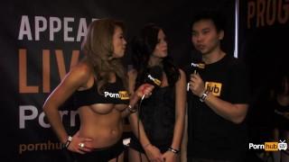 PornhubTV Whitney Westgate Interview at 2015 AVN Awards
