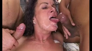 Fat Stepmom In Double Penetration Wake Up Call porno