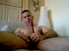 Jerking and shooting my big load