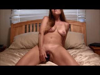 Sexy Milf Masturbating and Giving JOI