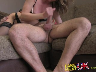 Sexy blonde MILF takes it from behind in hordcore adult sex casting