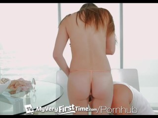 Ashley Adams tries anal sex for the first time - MyVeryFirstTime