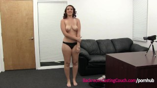 Preview 3 of Big Tits Amateur Painal Casting - First Time Anal