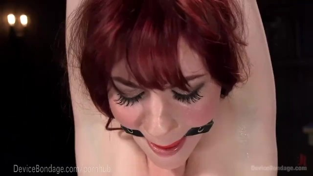 Metal strip uk - Hot redhead in cold metal bondage