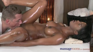 Massage Rooms Dark skinned goddess squirts from hardcore fucking ebony massagerooms sensual hardcore british fingering shaved oral-sex natural-tits orgasm english erotic female-orgasms missionary massage female-friendly oiled
