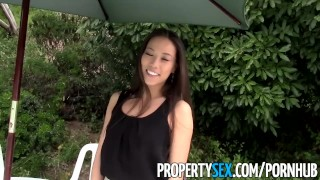PropertySex - Sexy Asian real estate agent tricked into making sex video  homemade outdoor pussy-licking point-of-view funny asian blowjob realtor propertysex hardcore sloppy-blowjob reality selfshot real-estate real-estate-agent facial