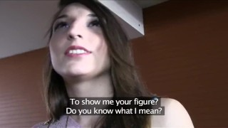 PublicAgent Sexy Spanish brunette fucked in a hotel room  sex for money sex for cash big cock outdoors outside amateur cumshot public pov real camcorder reality publicagent sex with stranger