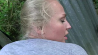 PublicAgent Glamour model with big tits fucked outside big-cock russian point-of-view publicagent big-tits amateur real camcorder sex-for-cash cumshot big-boobs sex-with-stranger outdoors public outside pov reality sex-for-money