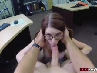 Jenny Gets Her Ass Pounded At The Pawn Shop