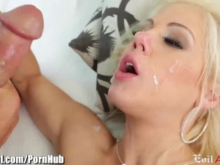 EvilAngel Slut Fists her Own Asshole and Facialed