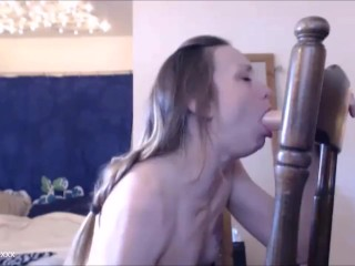 Messy Blow Job Cam Show