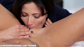 Alina Li Caught Masturbating with Step-Mom's Dildo  toys pussy-eating milf masturbation asian mom shaved fingering mother lesbian older-younger big-tits small-tits skinny pussy-licking girl-on-girl facesitting lesbianolderyounger