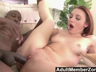 Adultmemberzone two tight hotties take on a big white dick 1